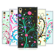 HEAD CASE DESIGNS VINES AND FLOWERS GEL CASE FOR SONY XPERIA XA1 ULTRA / DUAL