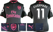 17 / 18 - PUMA ; ARSENAL 3RD KIT SHIRT SS + PATCHES / OVERMARS 11 = ADULTS