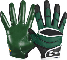 Cutters X40 C-TACK Revolution Football Receiver Gloves NEW Adult Green