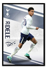 Tottenham Hotspur Dele Alli 2017 / 2018 Season Framed Cork Pin Board With Pins