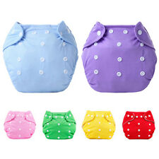 1 Pc Reusable Baby Infant Nappy Dotted Cloth Washable Diapers Soft Covers Great