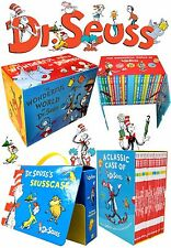 The World of Dr. Seuss Complete Collection Christmas Gift Box Sets Brand NEW