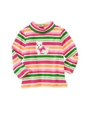 NWT Gymboree Girls Cheery All The Way Striped Top Size 3-6-12-18-24M & 2T