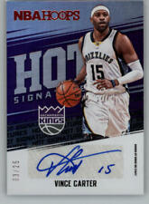 2017-18 Panini Hoops Red Hot Signatures Autograph Basketball Card Pick From List
