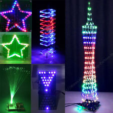Tower Butterfly Electronic Crystal Column Music Flowing Light LED Module DIY lot