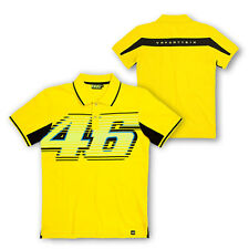 VALENTINO ROSSI VR.46 MENS 46 YELLOW POLO MOTOGP SIZES S & XL ONLY