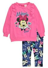 Minnie Mouse Toddler Girls Pink Top 2pc Legging Set Size 2T 3T 4T