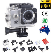 Sports Action Helmet Camera HD 1080P Waterproof Recorder+Bicycle Fit Mount IC