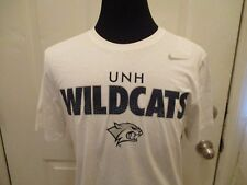 Brand New W/Tags White New Hampshire Wildcats Nike Adult Size Large Men's Shirt