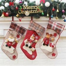 Candy Bag Santa Stockings Christmas Tree Ornaments Festival Party Hanging Decor