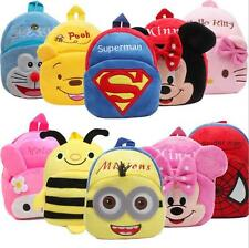 Toddler Kids Children Boys Girl Cartoon Backpack Shoulder Bag Rucksack Schoolbag