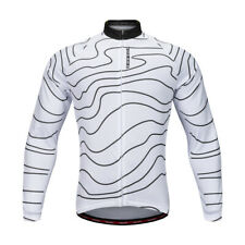 Cycling Jersey Bike Jersey Long Sleeve Cycling Jacket with Reflective Strips