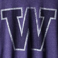Washington Huskies Original Retro Brand Vintage School Logo Mock Twist  T-Shirt