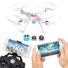 US WIFI Camera Drone FPV 2.4Ghz 4CH 6-Axis RC Quadcopter HD RTF Explorer X5SW-1