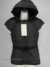 NEW LULULEMON Spring Fling Puffy Vest 4 6 Down Solid Black NWT FREE SHIP