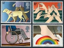 Great Britain 937-940,MNH.Michel 871-874. Year of Disabled,1981.