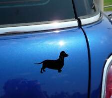 DETAILED DACHSHUND DACHSHUNDS DOG DOXIE GRAPHIC DECAL STICKER ART CAR WALL DECOR
