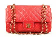 CHANEL TIMELESS CLASSIC FLAP MEDIUM RED