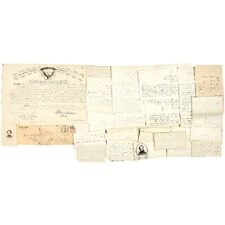 1863-64 Civil War Soldier's Archive of 36 Choice Content Letters and Documents