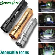 3 Colors15000LM 3-Modes Flashlight  XML T6 LED 18650 Zoomable Torch Lamp A<
