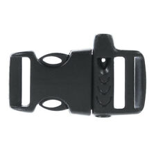 Side-Release 3/4-inch Whistle Buckles - For Paracord Bracelets, Survival