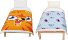 Moshi Monsters Kids Boys Girls Fleece Snuggle Throw Bed Travel Car Blanket