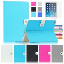 For Apple iPad 2 / 3 / 4 Magnetic Leather Smart Folio Case Cover Stand Canvas