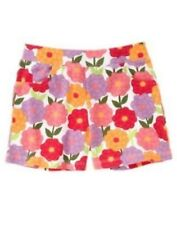 NWT Gymboree Girls Pretty Posies Knit Soft Floral Shorts Size 3 & 4