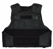 CPE Black Tactical Body Armour Stab Vest Ex Police Bullet Proof & Stab Rated B