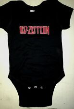 LED ZEPPELIN BABY ONE PIECE CREEPER T-SHIRT ROCK NEW METAL
