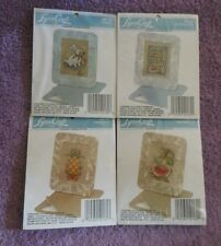 CHOOSE ONE: LYNN CRAFT CROSS STITCH KIT Pictures/Paper Pocket/Bookmark
