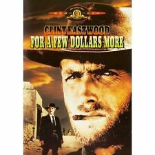FOR A FEW DOLLARS MORE DVD Brand New Clint Eastwood Classic Western MGM