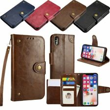 Luxury Flip PU Leather Card Photo Slot Cover Case Wallet For iPhone X 8/7 Plus 6