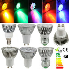 E27/E14/GU10/MR16 3W 3 LED Energy Saving Spot Down Light Spotlight Lamp Bulb