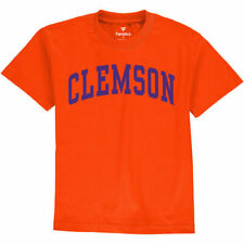 Clemson Tigers Fanatics Branded Youth Basic Arch T-Shirt - Orange