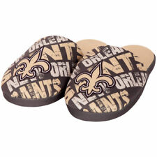New Orleans Saints Forever Collectibles Youth Wordmark Printed Slippers