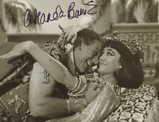 "Amanda Barrie hand signed , Carry on  8x10"", with SID JAMES, `dealer retirement`"