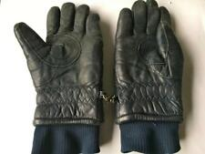 CONROY WOMEN'S LEATHER  Gloves WARM ~SZ LARGE FAUX SHEEPSKIN LINED WINTER GLOVES