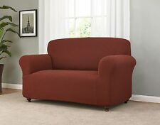 JERSEY STRETCH COVERS(LOVESEAT/SOFA/CHAIR/RECLINER)--BURGUNDY--