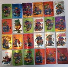Rat Fink Vintage Garage Sticker Big Daddy Ed Roth Hot Rat Rod Art Set Of 24 +