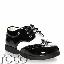 Boys Black & White Shoes, Boys Formal Shoes, Boys Wedding Shoes, Baby Shoes
