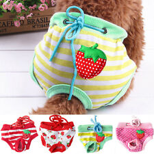 KQ_ Female Pet Dog Puppy Diaper Pants Physiological Sanitary Panty Underwear Pre