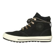 Converse Lined Ladies Shoes from Leather Chuck Taylor Ember Boat Hi Black