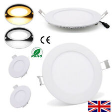 CEILING LED PANEL LIGHT RECESSED DIMMABLE DOWNLIGHTS SLIM LAMP BULB KITCHEN ROOM