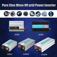 Pure/ Modified Sine Wave Power Inverter 300-1500W DC12V to AC110/220V  Circuits