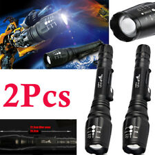 Ultrafire Tactical Zoomable 50000LM 5-Mode T6 LED 18650 Flashlight Torch Lamp