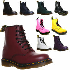 Dr Martens Women 8 EyeLet 1460 Mens Smooth Leather Ankle Boots Work Office Forma