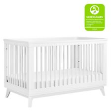 babyletto Scoot 3-in-1 Convertible Crib w/Conversion Kit, White - M5801W