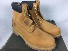 NEW TIMBERLAND 6 in PREMIUM WHEAT 10061 LEATHER WATERPROOF BOOTS MENS