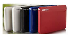 "Toshiba 1TB External Mobile hard disk drive portable HDD USB 3.0 2.5"" High Speed"
